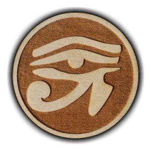 Pracownia Konkretu - oko horusa magnes