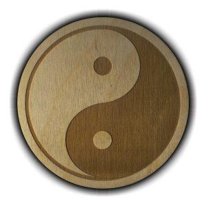 Pracownia Konkretu - yin yang magnes