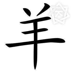 chiński znak zodiaku koza